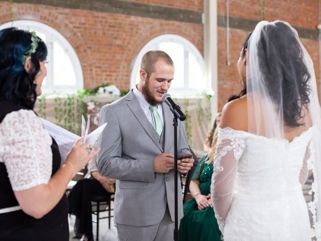 Tyler and Mia's Wedding in California City, California 12