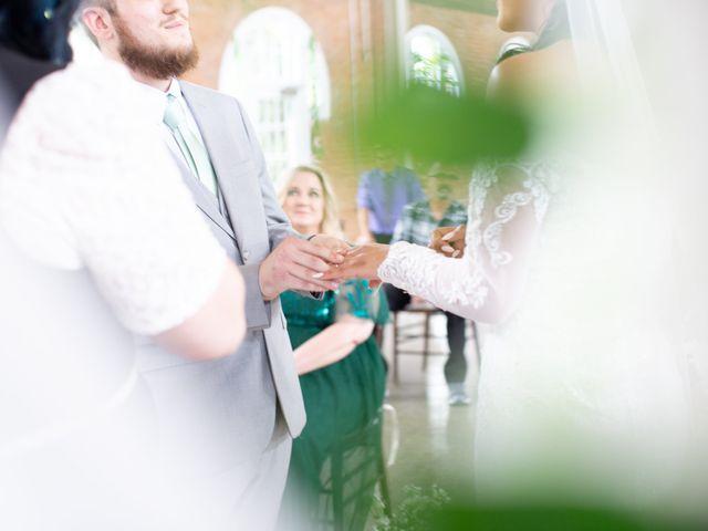 Tyler and Mia's Wedding in California City, California 15