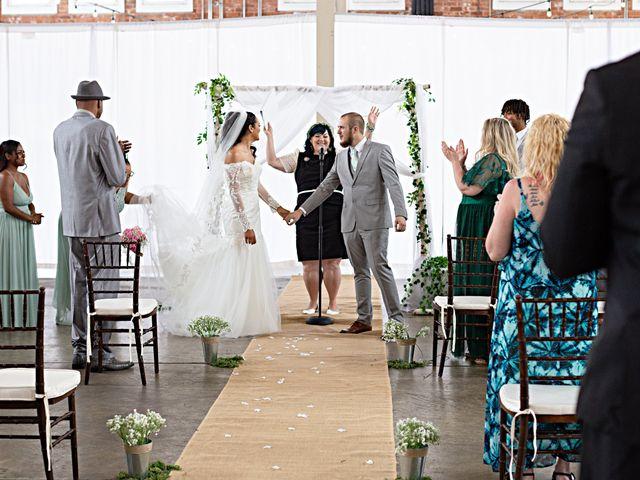 Tyler and Mia's Wedding in California City, California 17