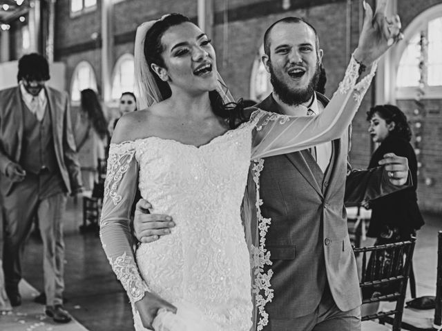 Tyler and Mia's Wedding in California City, California 22