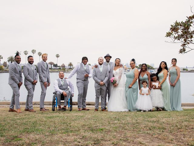 Tyler and Mia's Wedding in California City, California 23
