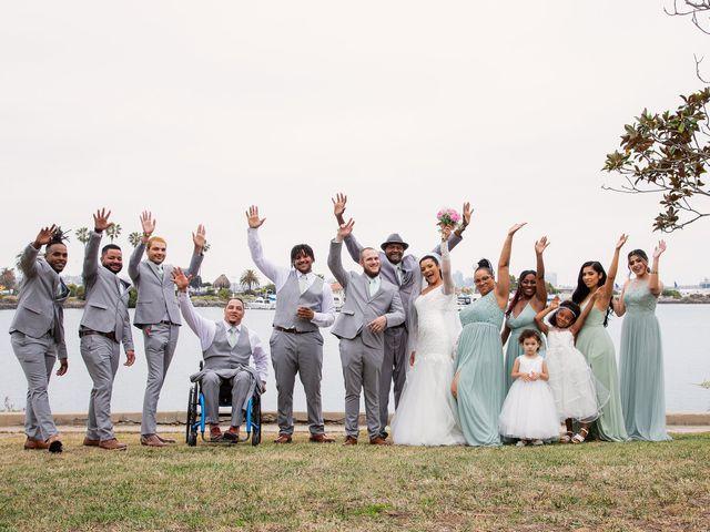 Tyler and Mia's Wedding in California City, California 24
