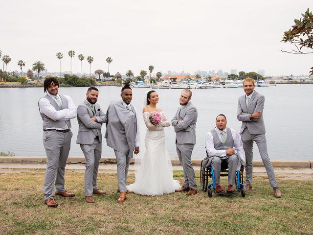 Tyler and Mia's Wedding in California City, California 25