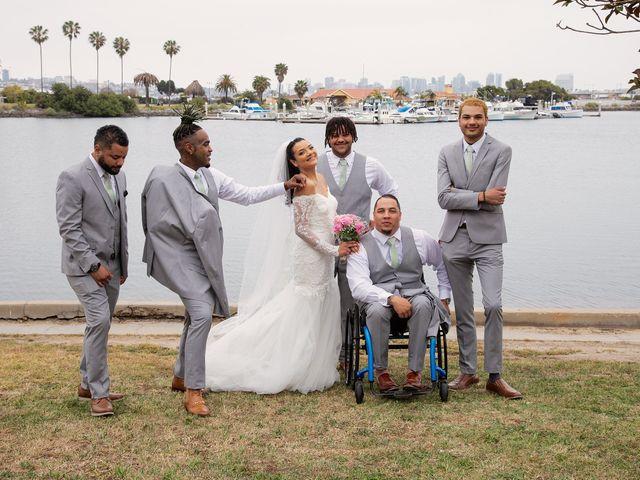 Tyler and Mia's Wedding in California City, California 26