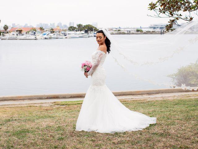 Tyler and Mia's Wedding in California City, California 34