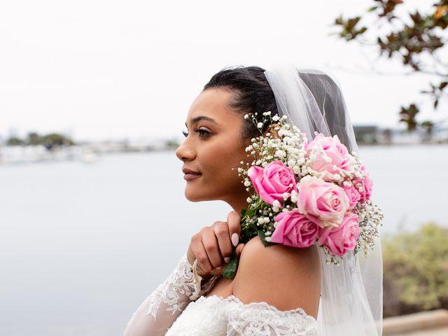 Tyler and Mia's Wedding in California City, California 36