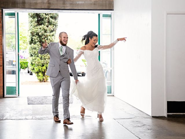 Tyler and Mia's Wedding in California City, California 40
