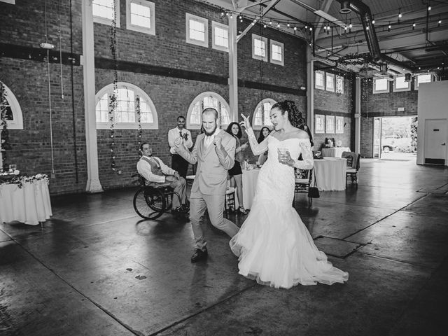 Tyler and Mia's Wedding in California City, California 41