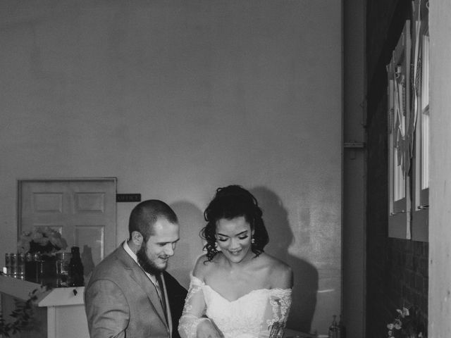 Tyler and Mia's Wedding in California City, California 50