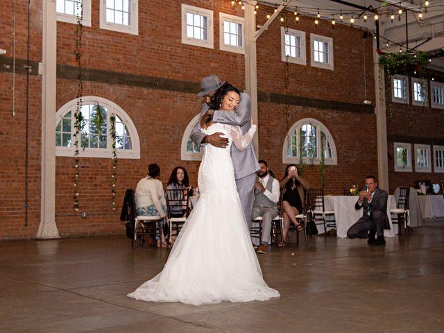 Tyler and Mia's Wedding in California City, California 51
