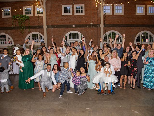 Tyler and Mia's Wedding in California City, California 53