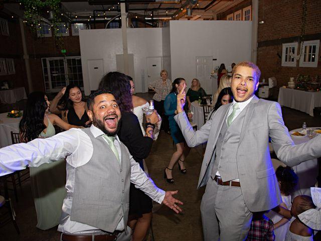 Tyler and Mia's Wedding in California City, California 54