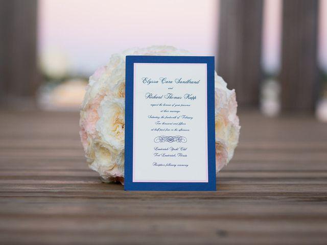 Elyssa and Rick's Wedding in Fort Lauderdale, Florida 1