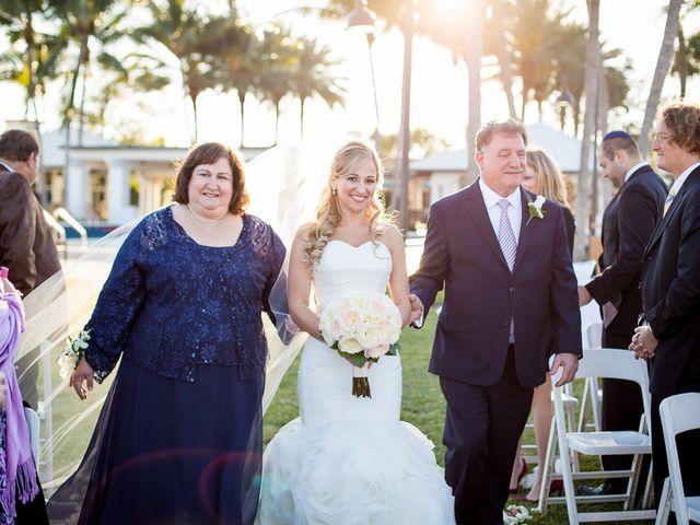 Elyssa and Rick's Wedding in Fort Lauderdale, Florida 12