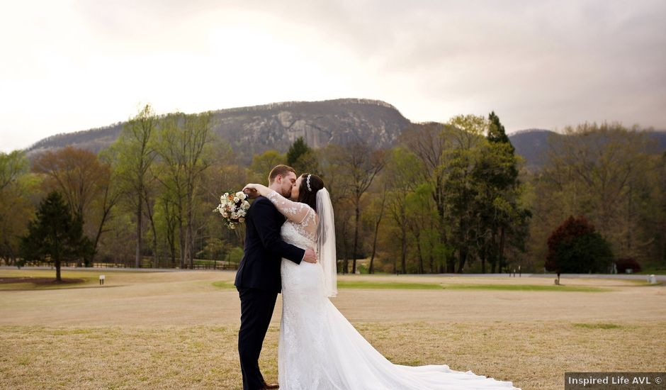 Cory and Brianna's Wedding in Lake Lure, North Carolina