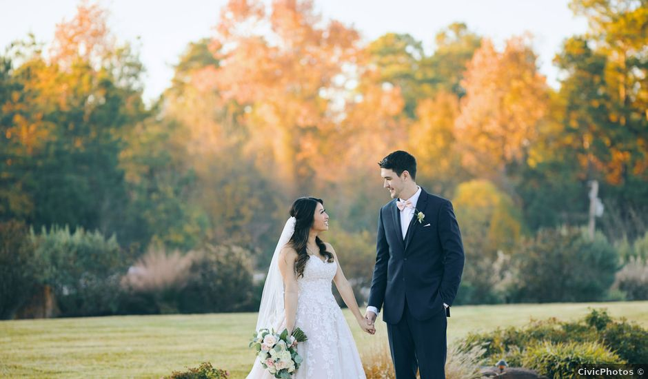 Amy and Bryan's Wedding in Montgomery, Texas
