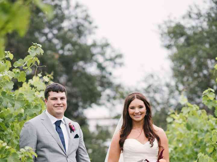 The wedding of Dylan and Ashley