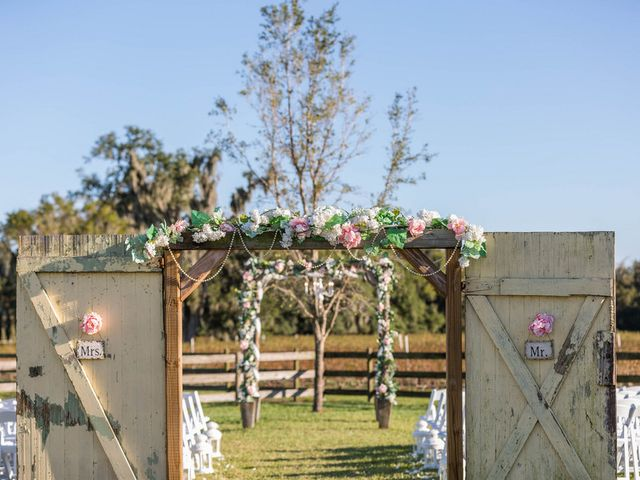 Alexis and Brad's Wedding in Plant City, Florida 10