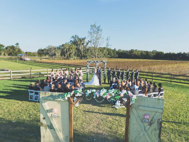 Alexis and Brad's Wedding in Plant City, Florida 11