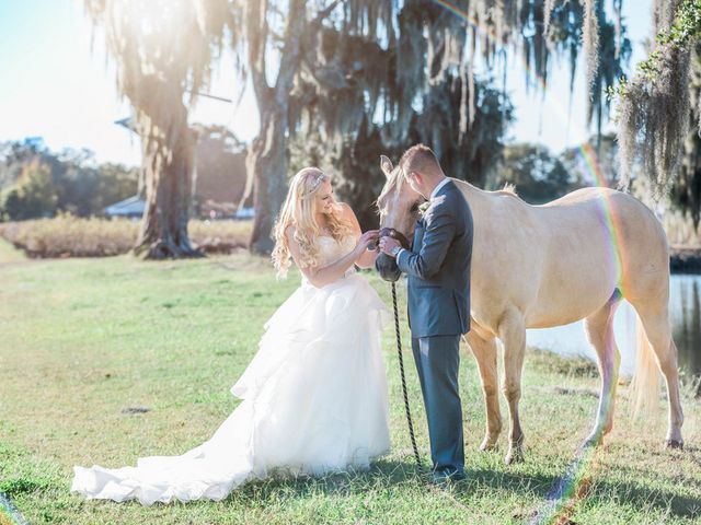 Alexis and Brad's Wedding in Plant City, Florida 14