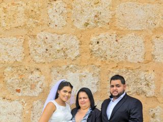 The wedding of Brandon and Nazaret 1