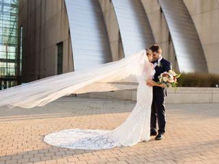 The wedding of Caroline and John