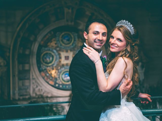 The wedding of Emil and Daria