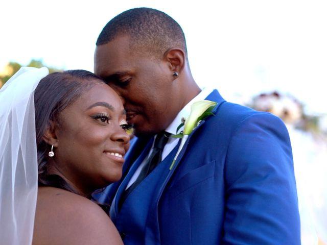 The wedding of Monay and Brandon