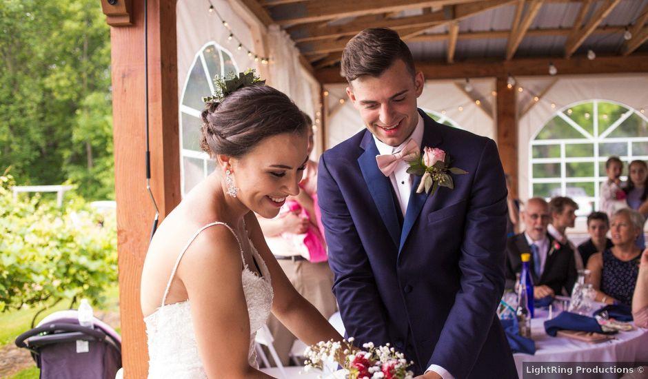 Nicole and Theo's Wedding in Plattsburgh, New York