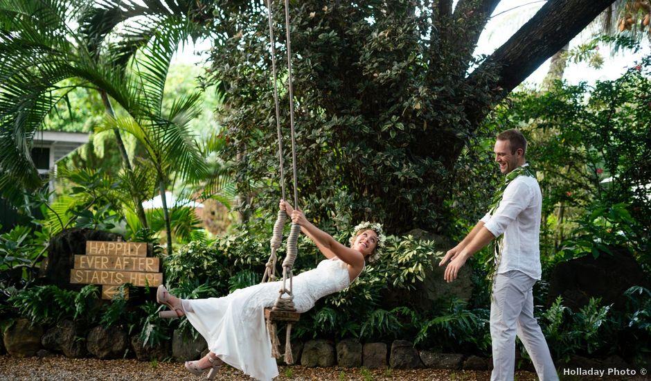 Eoin and Margot's Wedding in Haleiwa, Hawaii
