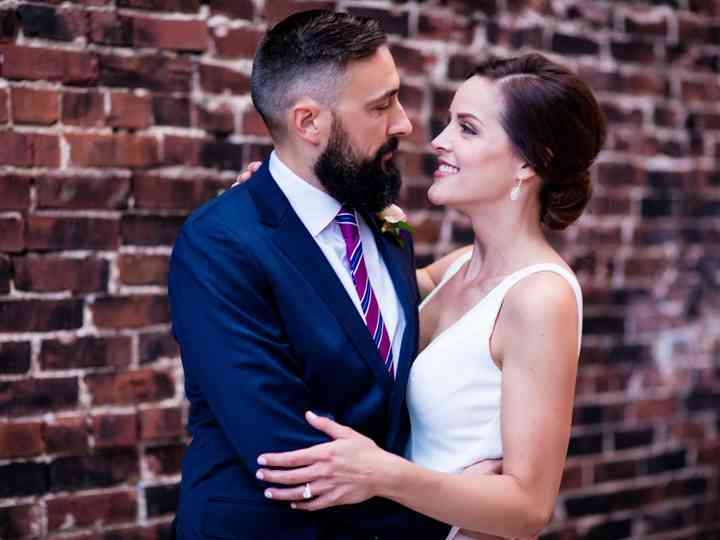 The wedding of Danette and Rob