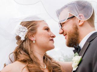 The wedding of Christina and Zachary
