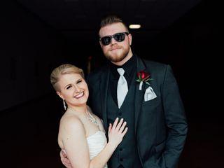 The wedding of Alex and Heidi