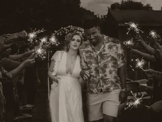 The wedding of Joyce and Joshua 3