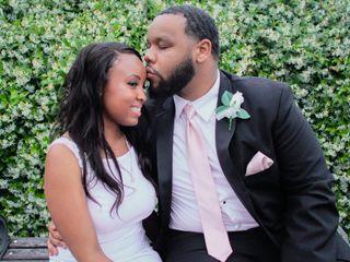 The wedding of Jordan and Sabree