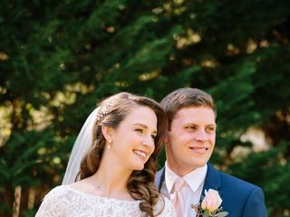 The wedding of Caroline and David 1