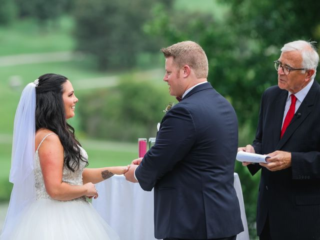 Brett and Brittany's Wedding in York, Pennsylvania 9