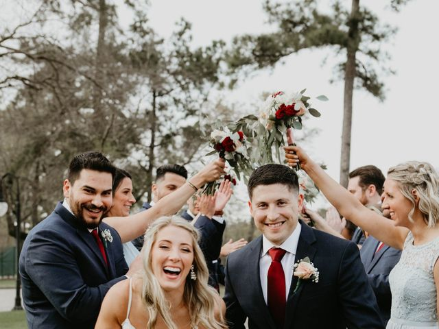Isaiah and Katie's Wedding in Spring, Texas 36