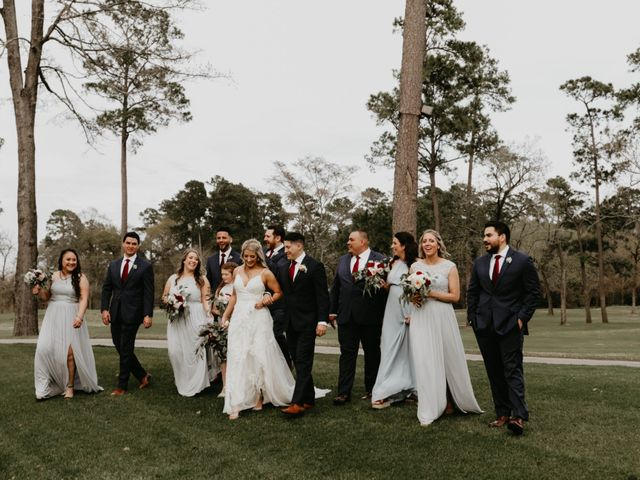 Isaiah and Katie's Wedding in Spring, Texas 40