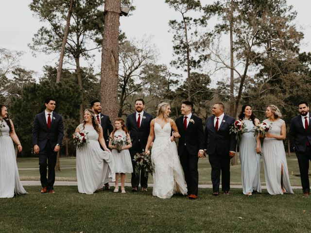 Isaiah and Katie's Wedding in Spring, Texas 49