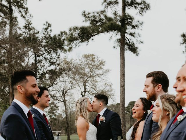 Isaiah and Katie's Wedding in Spring, Texas 50