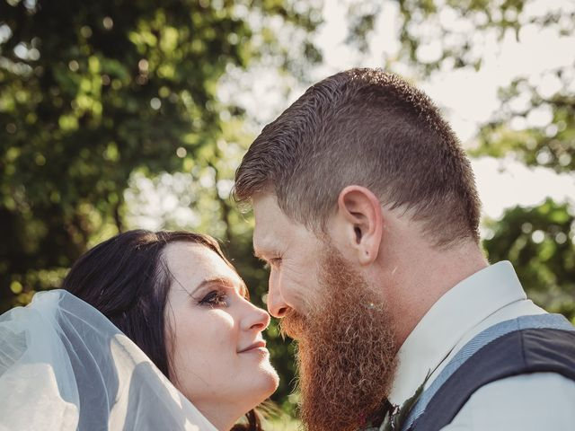 Kaylyn and Martin's Wedding in Baldwin City, Kansas 1