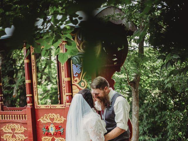 Kaylyn and Martin's Wedding in Baldwin City, Kansas 7