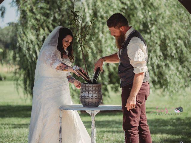 Kaylyn and Martin's Wedding in Baldwin City, Kansas 8