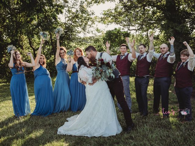 Kaylyn and Martin's Wedding in Baldwin City, Kansas 20
