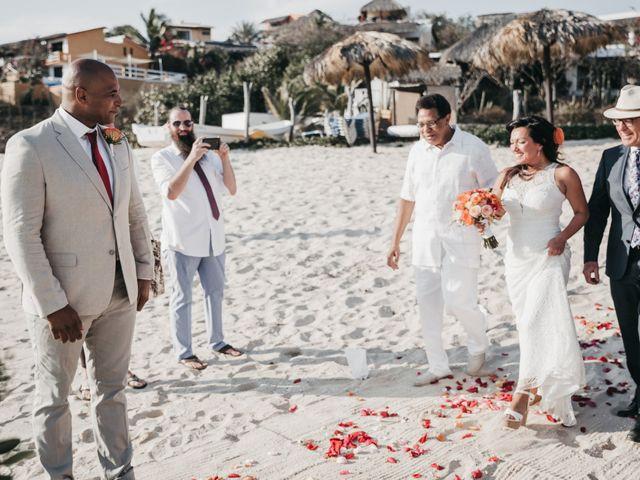 Mike and Amy's Wedding in Bahias De Huatulco, Mexico 34