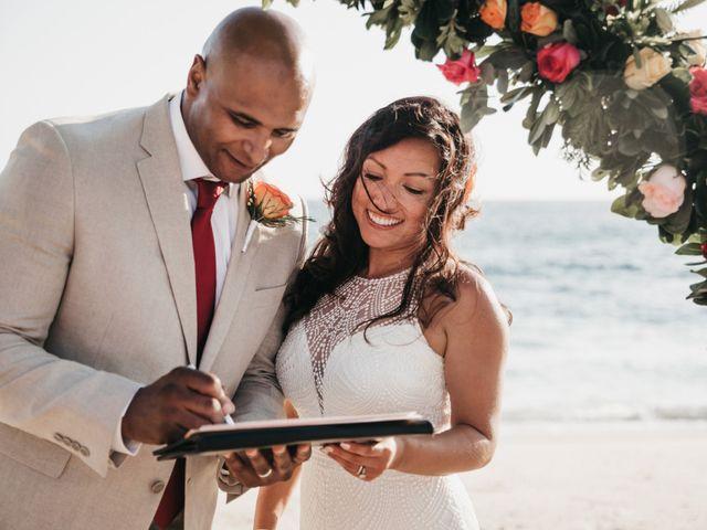 Mike and Amy's Wedding in Bahias De Huatulco, Mexico 50