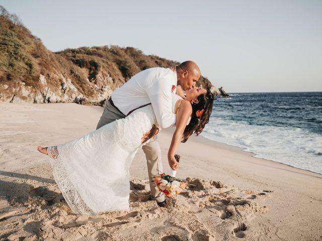 Mike and Amy's Wedding in Bahias De Huatulco, Mexico 59
