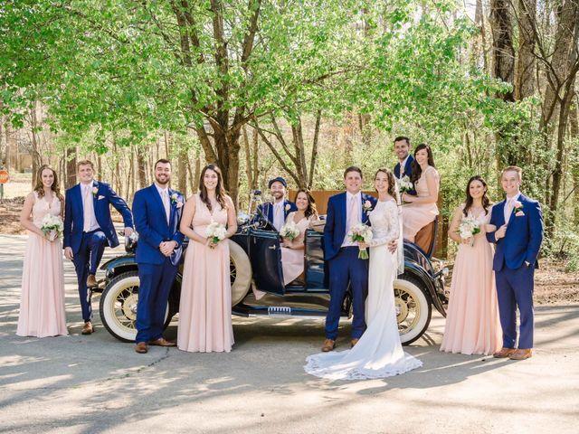 David and Caroline's Wedding in Lexington, South Carolina 1