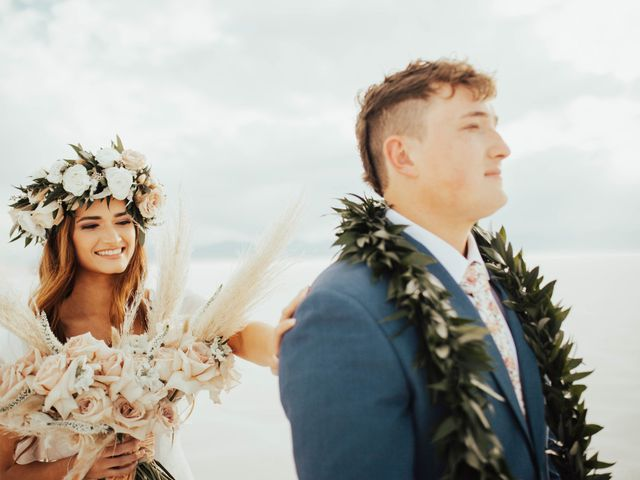 Cody and Abbey's Wedding in Wendover, Utah 5